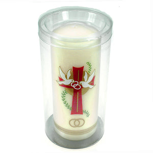 Pillar Wedding Candle