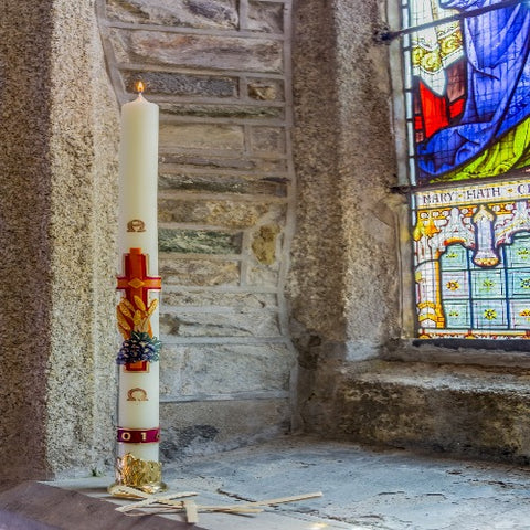 "2"" 1/2"" Paschal Candle"