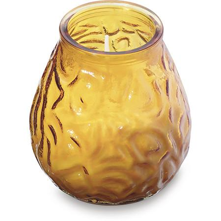 Lowboy Glass filled candles Amber (12)
