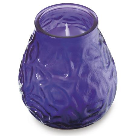 LowBoy glass filled candles Purple (12)