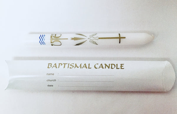 Baptismal candle (single)