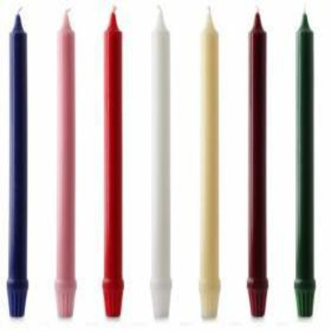 Self Fitting Coloured Candles
