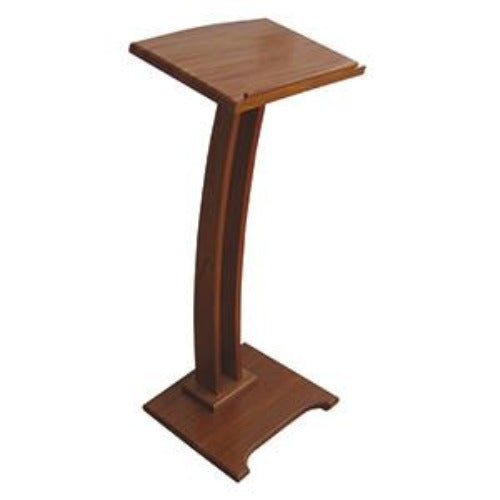 Contemporary Wooden Lectern   STOCK DELAY UNTIL MID APRIL