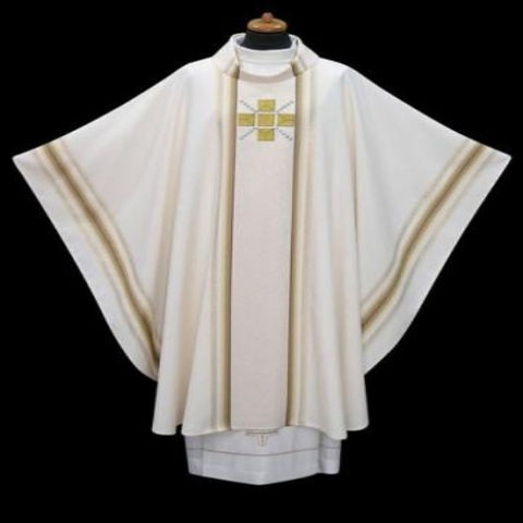 Simple Gold cross design