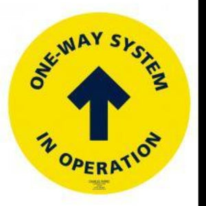 One Way Non Slip Floor Sticker