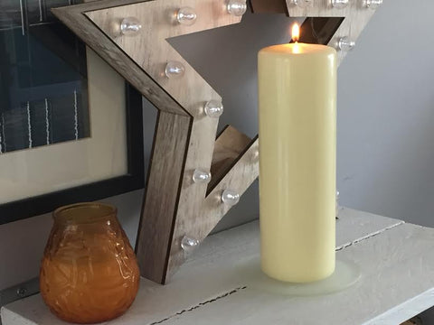 Pillar Candle 100mm - pack 8