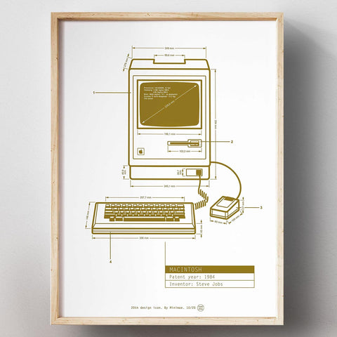 Macintosh 128 K. Apple