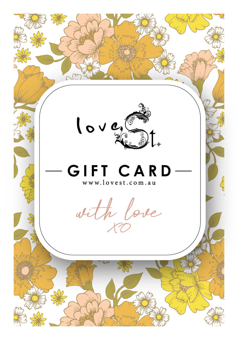 Love St Gift Card
