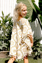 Love Child Kaftan - Honeydew