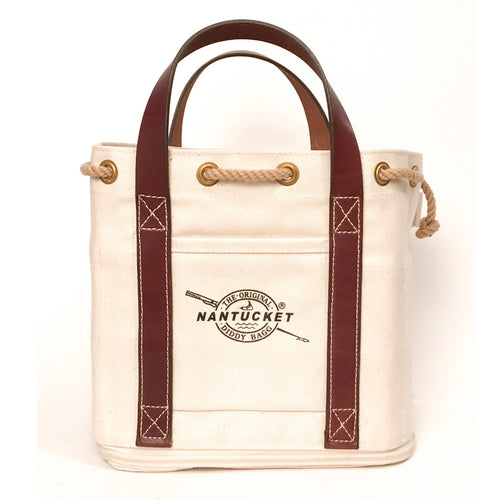 #611 Leather Handled Bagg