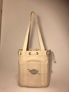 #611 The Handy Nantucket Diddy Bagg - Short Canvas Tote Bag