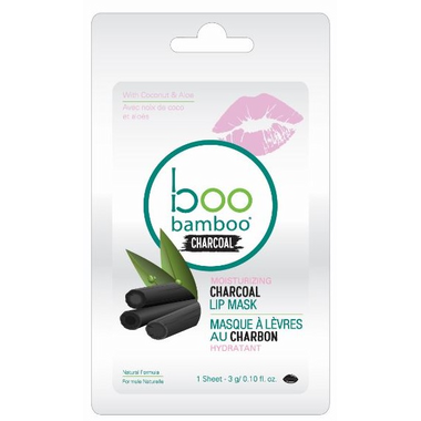 Boo Bamboo Charcoal Lip Mask