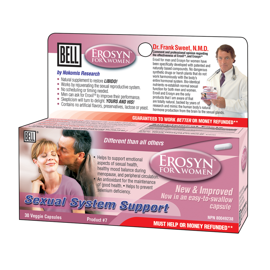 Bell Lifestyle Products Erosyn For Women - 30 Capsules