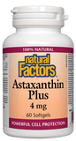 Natural Factors Astaxanthin Plus 4mg - 60 Softgels