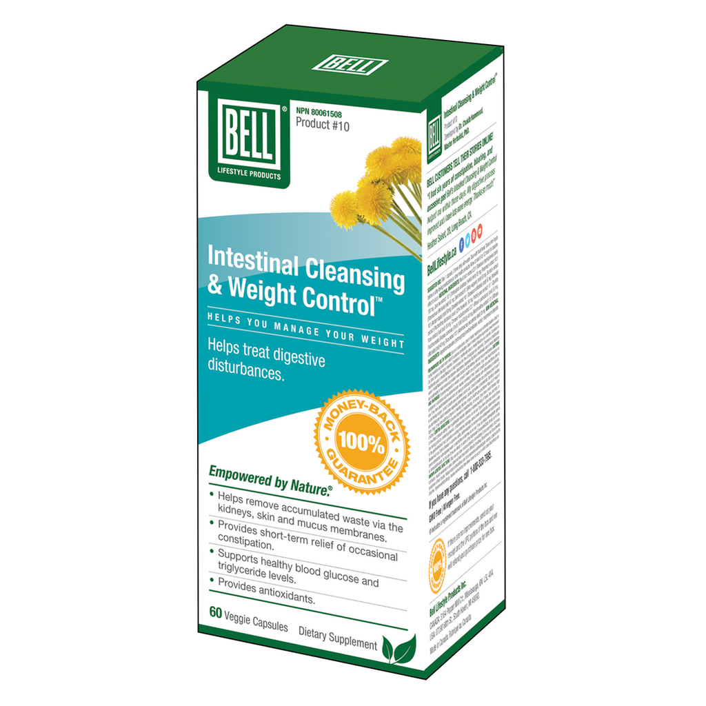 Bell Lifestyle Products Intestinal Cleansing & Weight Control - 60 Capsules
