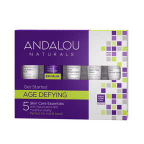 Andalou Naturals Get Started Age Defying Kit - 5pc