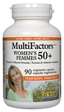 Natural Factors MultiFactors® Women's 50+ - 90 Capsules