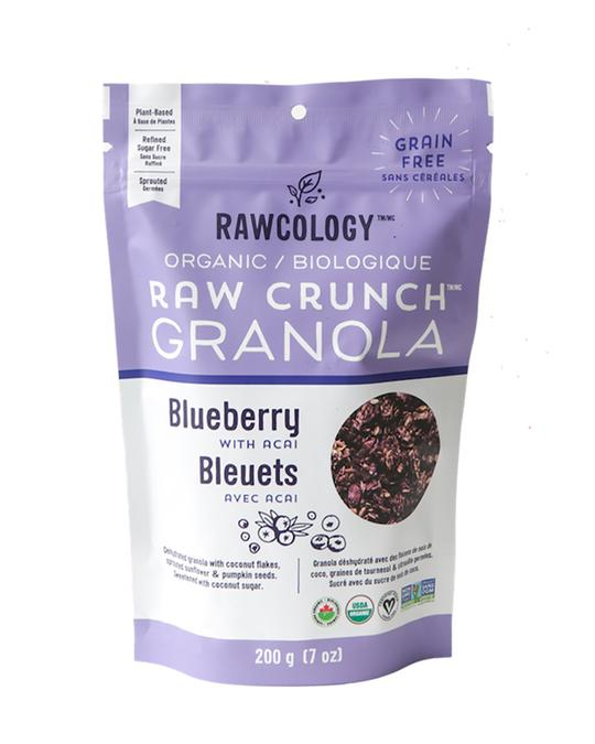 Rawcology Organic Blueberry Granola With Acai - 200g