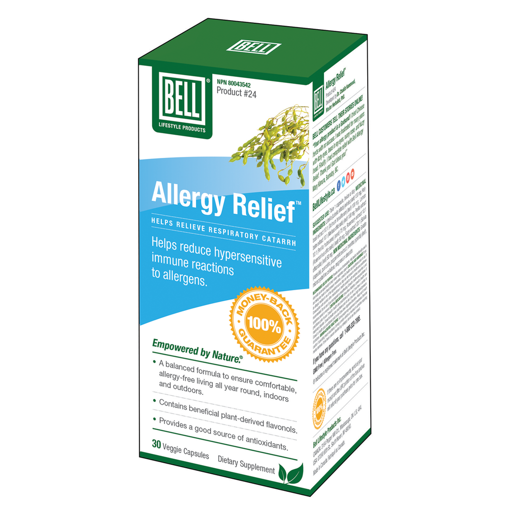 Bell Lifestyle Products Allergy Relief - 30 Capsules