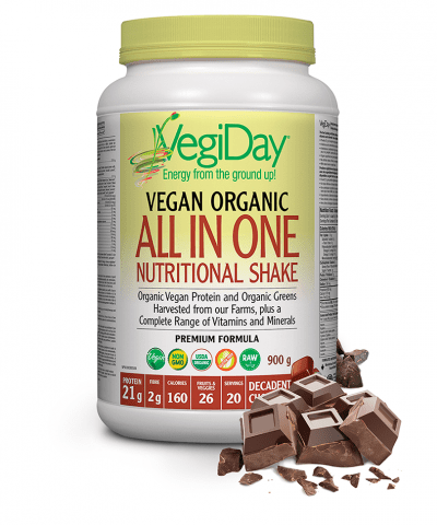 VegiDay All In One Nutritional Shake Decadent Chocolate - 900g