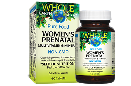 Women's Prenatal Multivitamin & Mineral - 60 Tablets