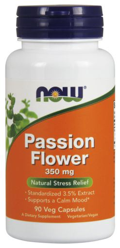 Now Passion Flower 350mg - 90 Capsules