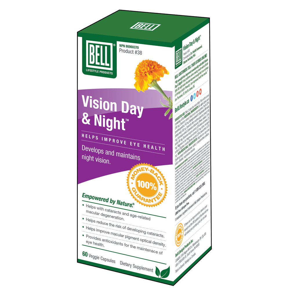 Bell Lifestyle Products Vision Day & Night - 60 Capsules
