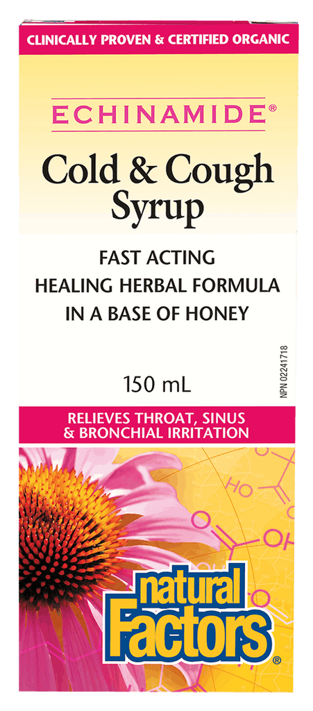 Natural Factors Cold & Cough Syrup - 150ml