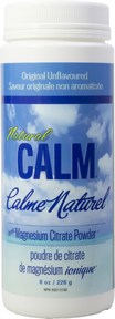 Natural Calm Magnesium Citrate Powder Unflavoured - 226g