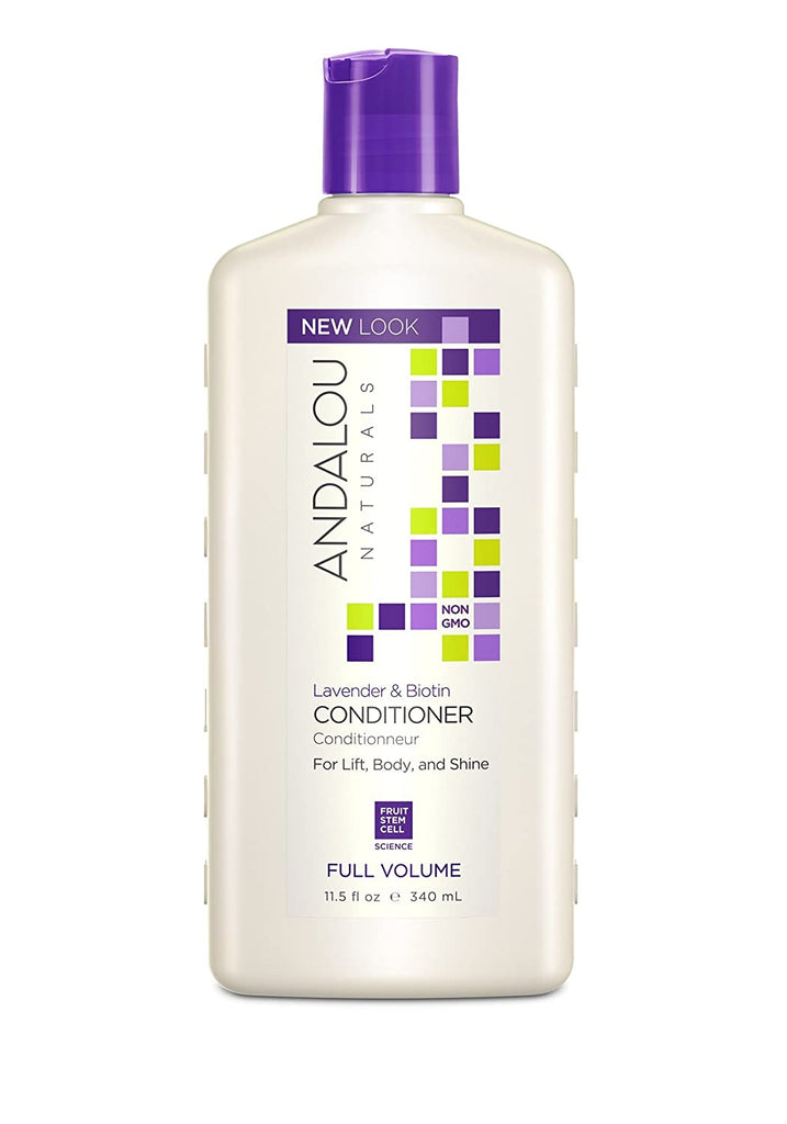 Andalou Naturals Lavender & Biotin Full Volume Conditioner - 340ml