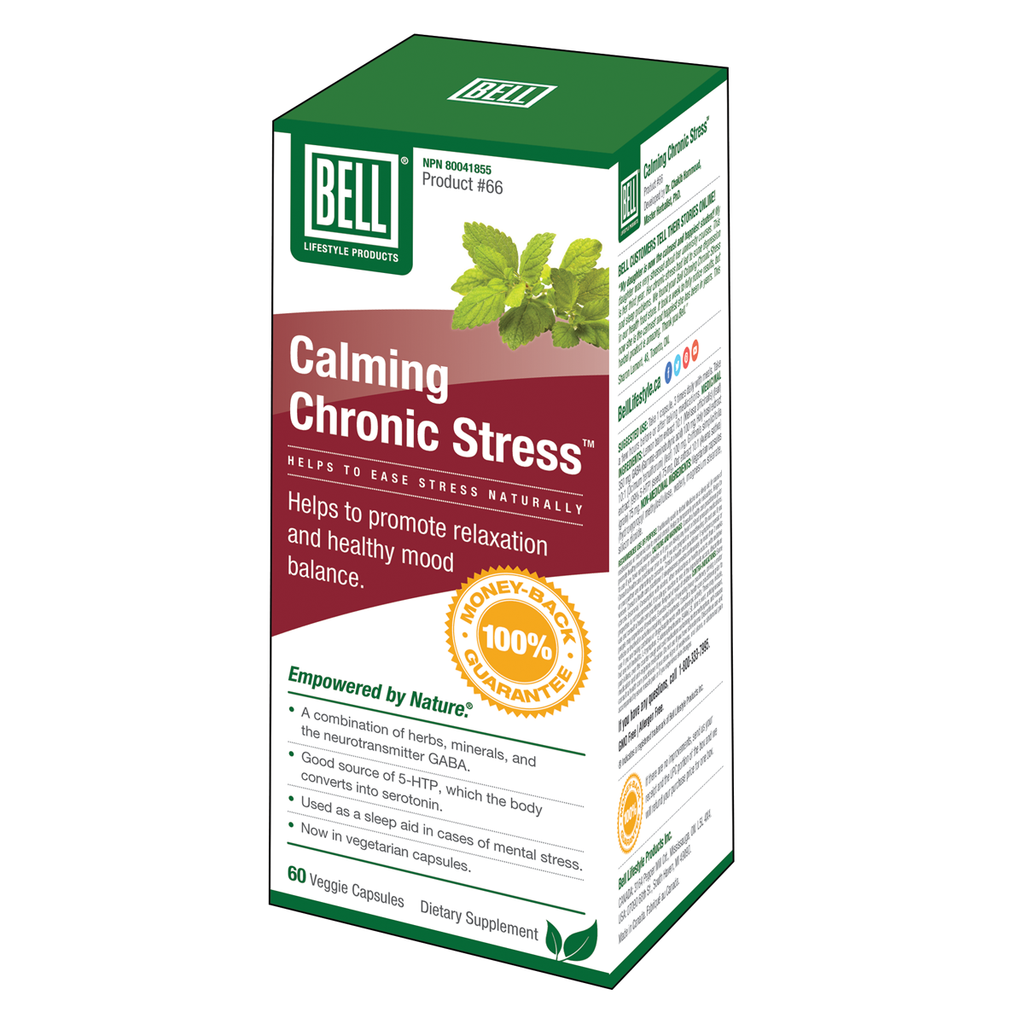 Bell Lifestyle Products Calming Chronic Stress - 60 Capsules