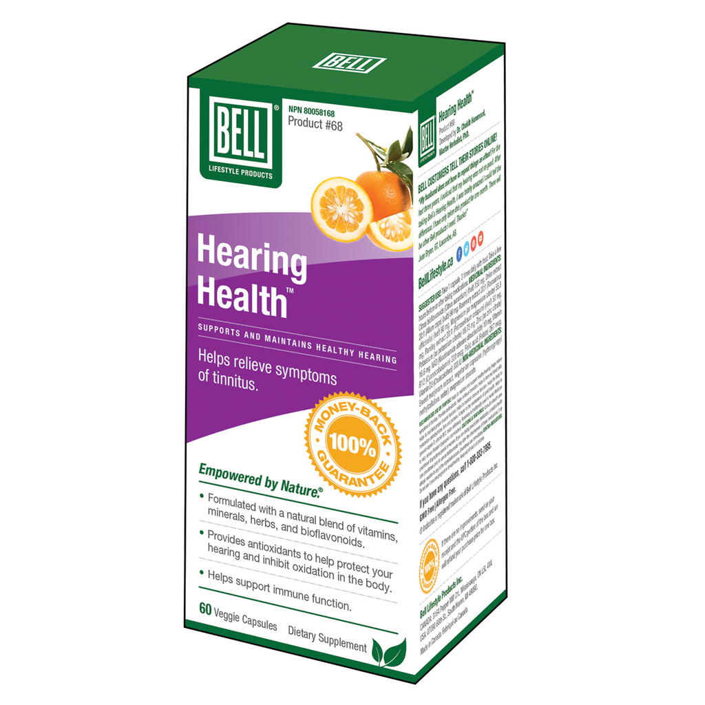 Bell Lifestyle Products Hearing Health - 60 Capsules