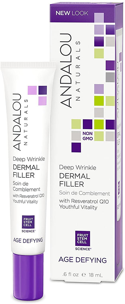 Andalou Age Defying Deep Wrinkle Dermal Filler - 18ml