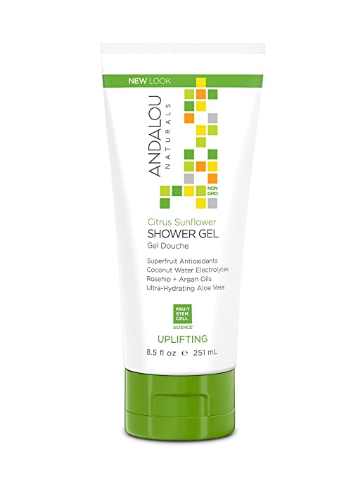 Andalou Naturals Citrus Sunflower Uplifting Shower Gel - 251ml