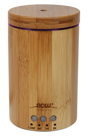 Ultrasonic Real Bamboo Essential Oil Diffuser