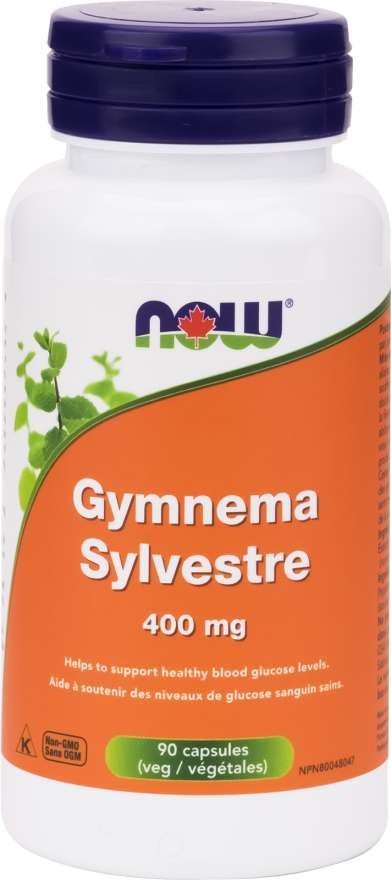 Now Gymnema Sylvestre 400mg - 90 Capsules