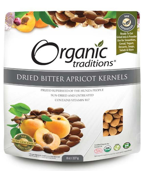 Dried Bitter Apricot Kernels - 227g