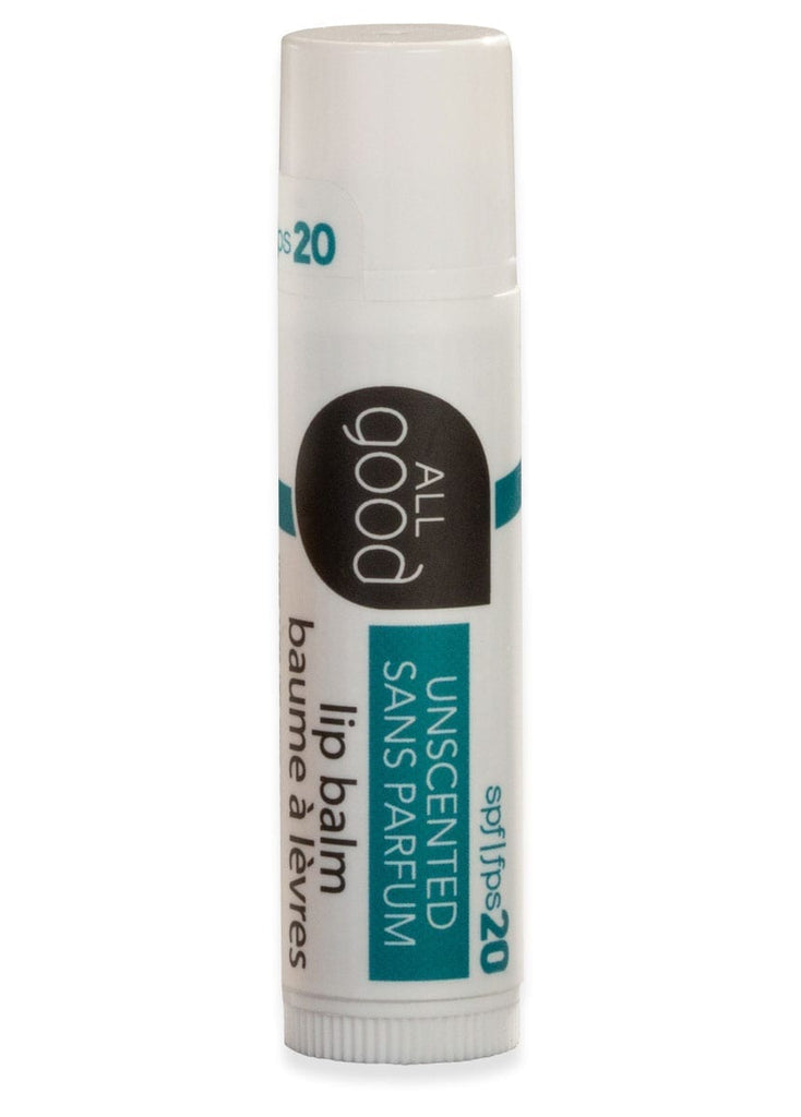 All Good Unscented Lip Balm - SPF 20