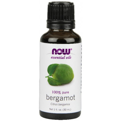 Now Bergamot Essential Oil - 30ml