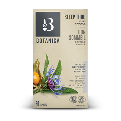 Botanica Sleep Thru Liquid Capsule - 60 Capsules