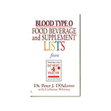 Blood Type O - Book