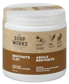 Soap Works Bentonite Clay Powder - 454g