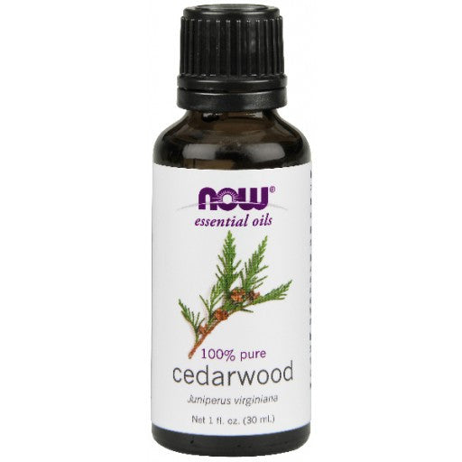 Now Cedarwood Essential Oil - 30ml
