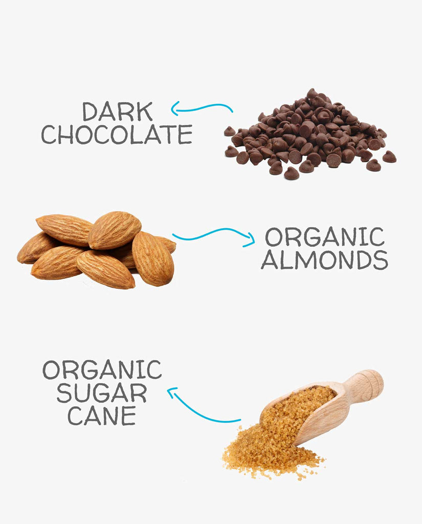 A Lil Nutty Dark Chocolate Almonds - 150g
