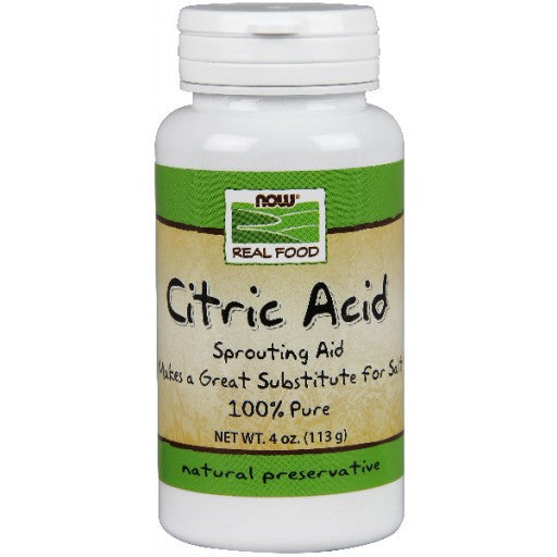 Now Citric Acid Powder - 113g