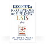 Blood Type A - Book