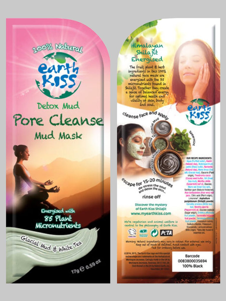 Earth Kiss Pore Cleansing Mud Mask
