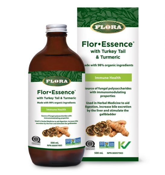 Flora Flor•Essence® with Turkey Tail & Turmeric - 500ml