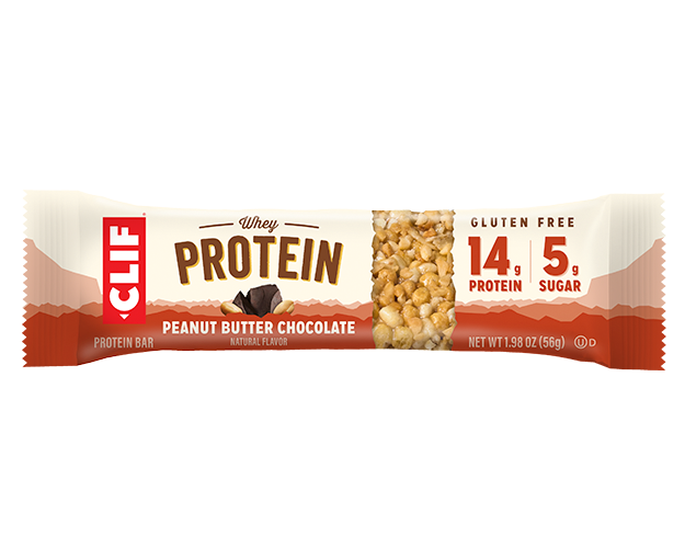 Clif Peanut Butter Chocolate Whey Protein Bar