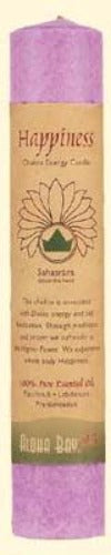 Aloha Bay Happiness Chakra Pillar Candle